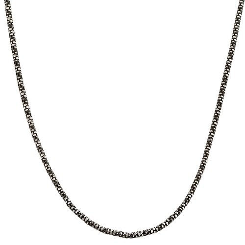 Fremada Jewelry Sterling Silver Python Popcorn Necklace