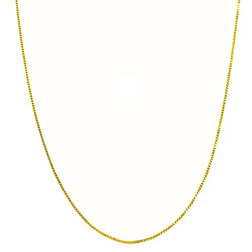 Fremada Jewelry High Polish Sterling Silver Venetian Box Chain