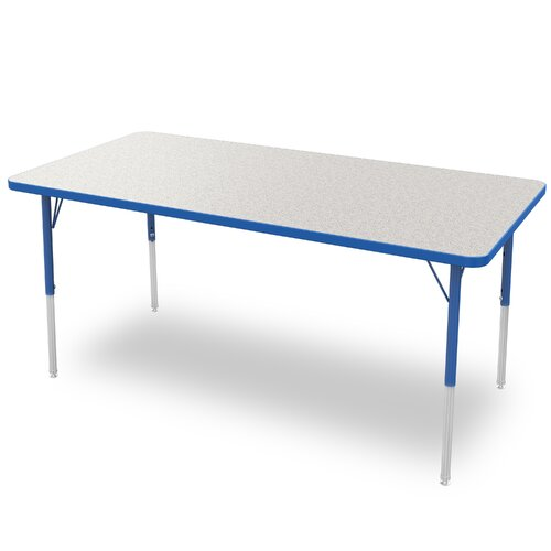 "Marco Group Inc. 30"" x 60"" Rectangular Adjustable Activity Table"