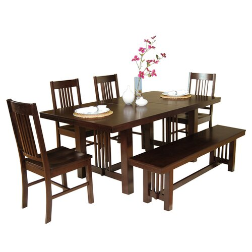 Home Loft Concept Meridian 6 Piece Dining Set