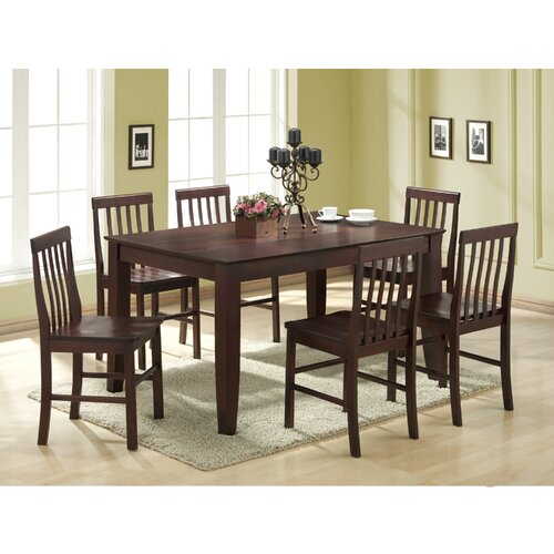 Home Loft Concept Ashlyn 7 Piece Dining Set