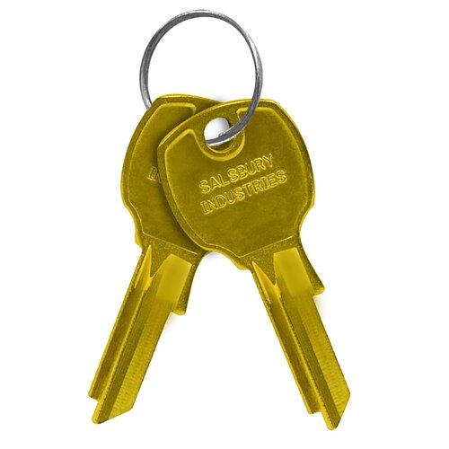 Salsbury Industries Blank Keys for Standard Locks