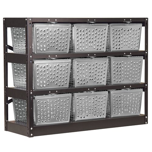 Salsbury Industries 1 Tier 3 Wide  Basket Locker