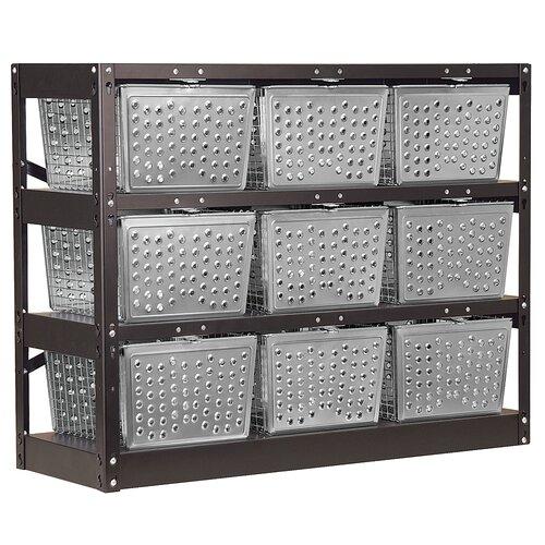 Salsbury Industries Unassembled Basket Locker