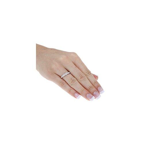 Designer Diamonds White Gold Braided Pave Set Diamond Ring