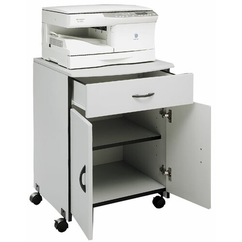 Buddy Products Laser Printer and Copier Stand with Drawer