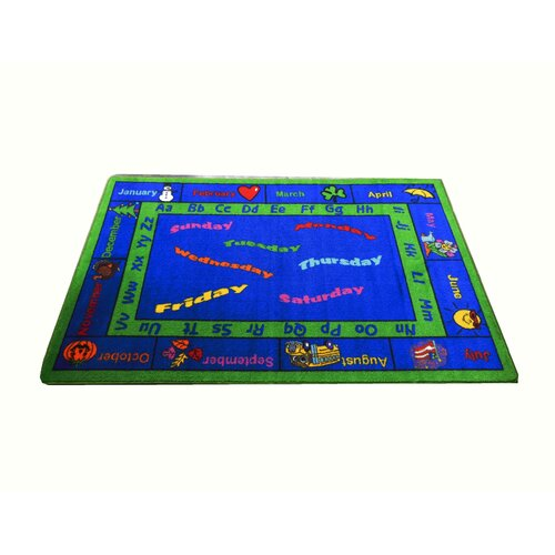 Kids World Rugs Calendar Kids Rug
