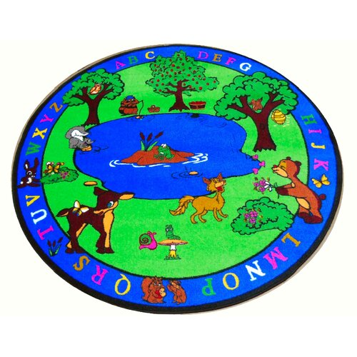 Kids World Rugs Forest Friends Kids Rug