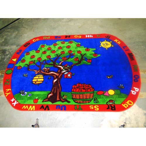 Kids World Rugs Apple Tree Kids Rug