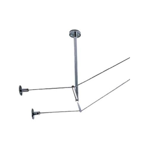 Tech Lighting Kable Lite Rigid T Standoff in Chrome and Satin Nickel