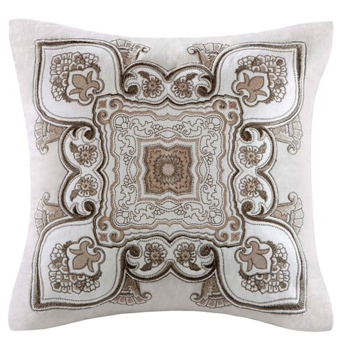echo design Odyssey Cotton Faux Linen Square Pillow