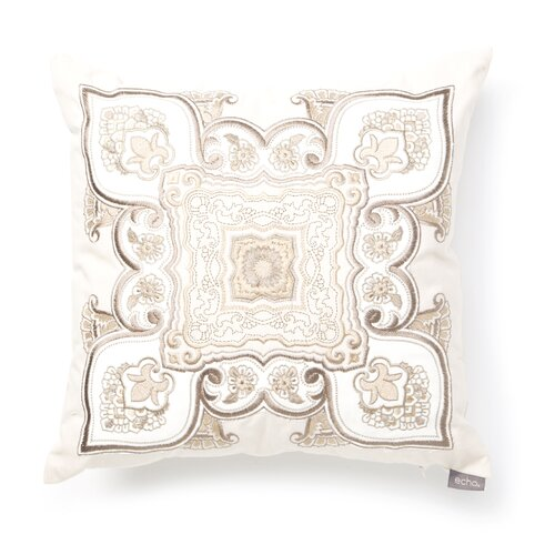 Odyssey Cotton Faux Linen Square Pillow