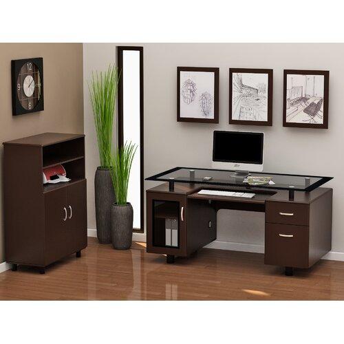 Z-Line Designs Ayden Standard Desk Office Suite