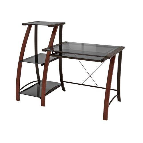 Z-Line Designs Triana Computer Desk with Bookcase