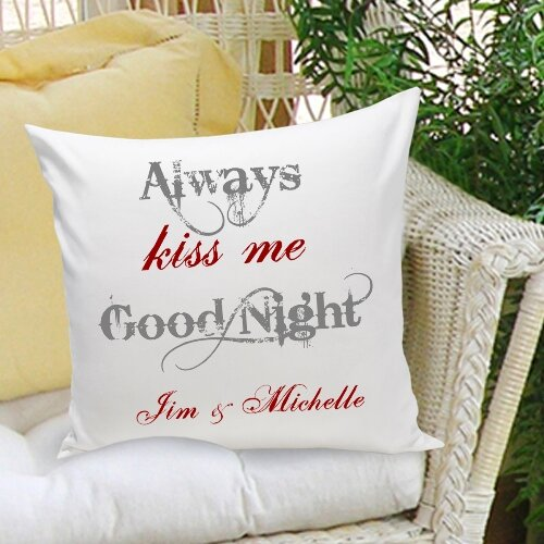 Personalized Gift Couples and Love Throw Pillows