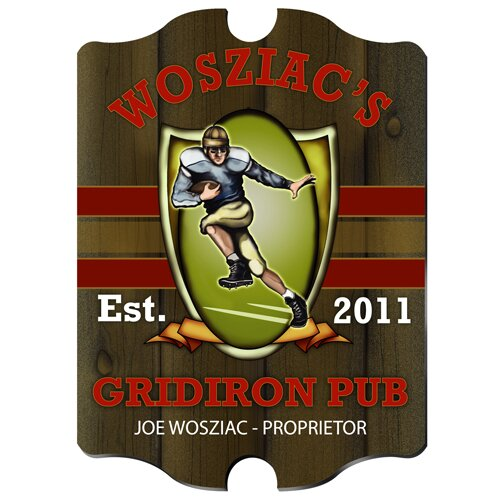 Personalized Gift Ultimate Pub Graphic Art (Set of 4)
