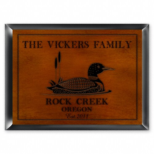 Personalized Gift Cabin Series Traditional Framed Vintage Advertisement