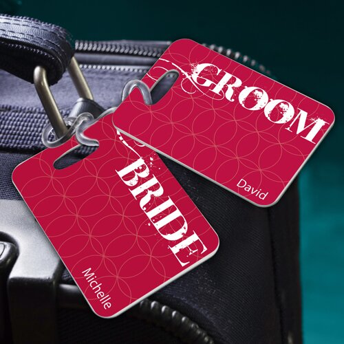Personalized Gift Couples Sojourn Luggage Tag (Set of 2)