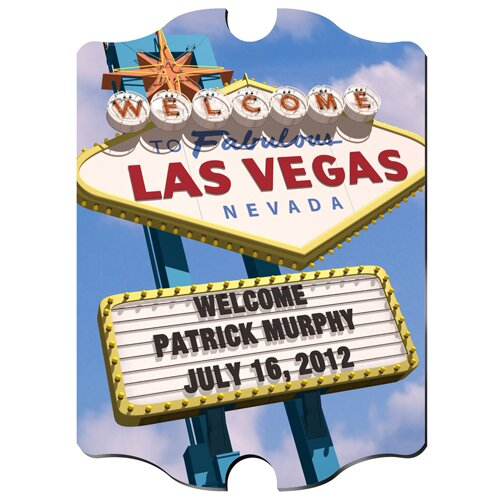 Personalized Gift Vegas Marquee Photographic Print