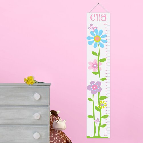 Jds Personalized Gift Kids Canvas Height Growth Chart On Popscreen