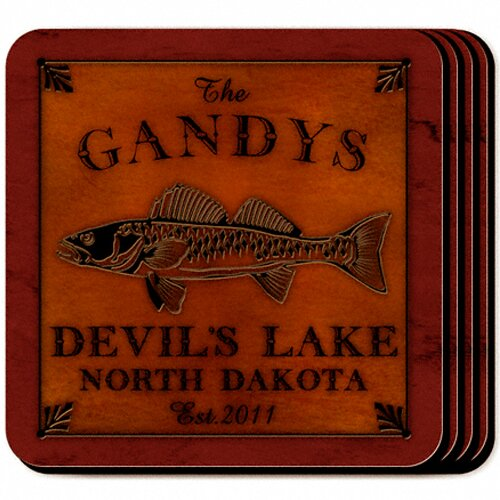 Personalized Gift Cabin Series Coaster (Set of 4)