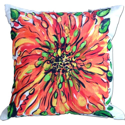 My Island Blossom Cotton Pillow