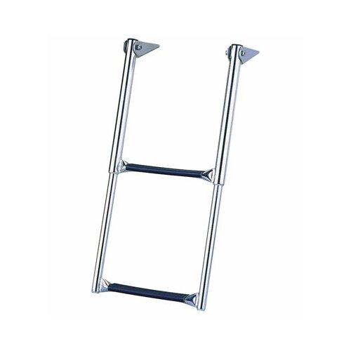 Garelick MFG. Company Over Telescoping Drop Platform Ladder