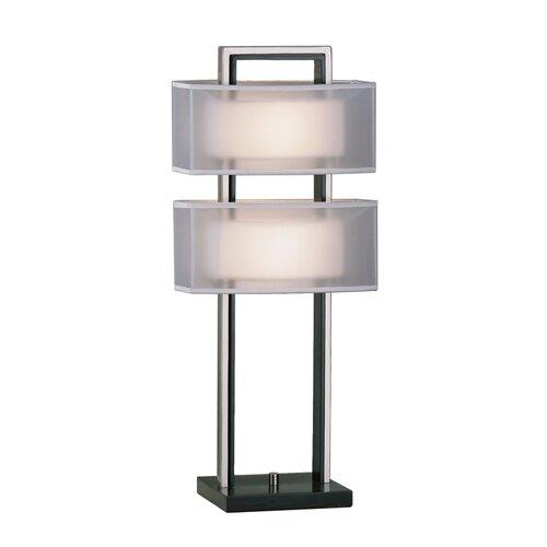"Nova Amarillo 28"" H Table Lamp with Rectangle Shade"