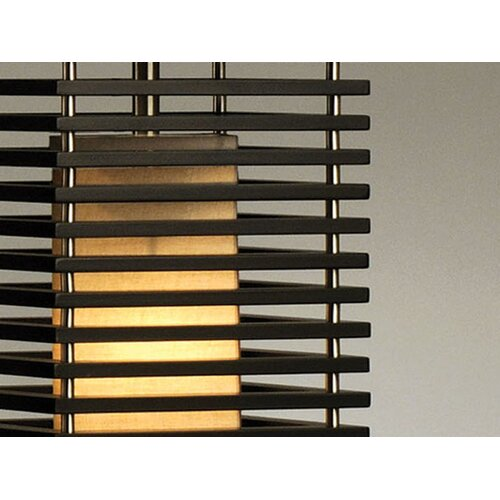 "Nova Kimura Standing 27"" H Table Lamp with Rectangle Shade"