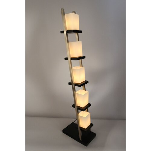 nova escalier floor lamp reviews wayfair. Black Bedroom Furniture Sets. Home Design Ideas