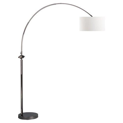 issey arc floor lamp wayfair. Black Bedroom Furniture Sets. Home Design Ideas