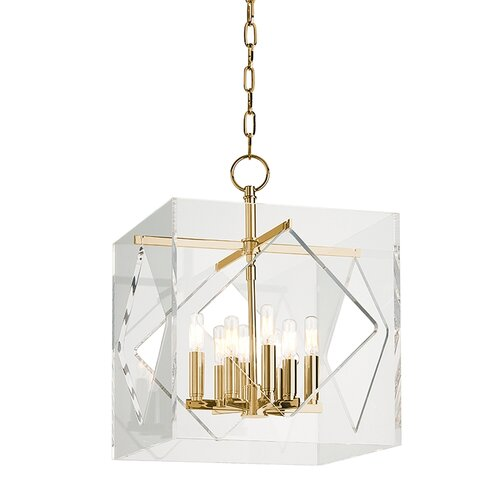 Travis 8 Light Foyer Pendant