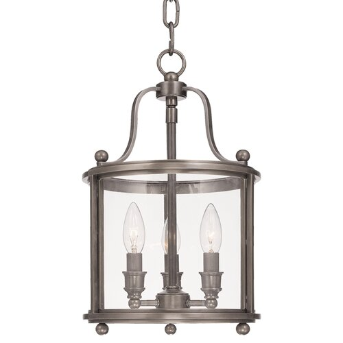 Williamsburg Hampton 3 Light Foyer Pendant