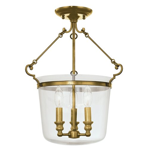 Quinton 3 Light Chandelier