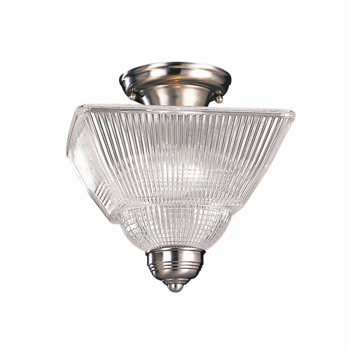Hudson Valley Lighting Majestic Square 2 Light Semi Flush Mount