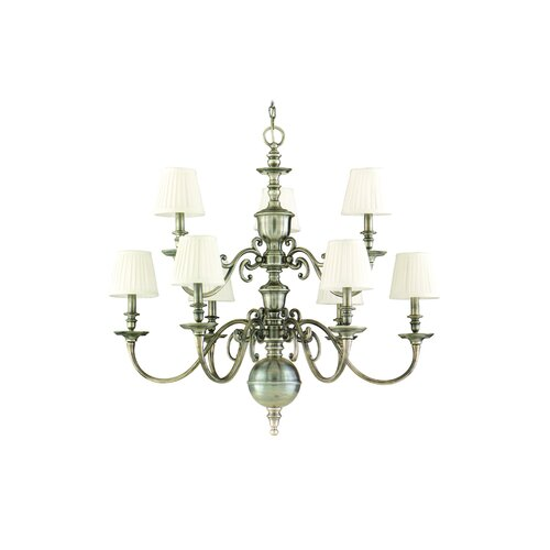 Hudson Valley Lighting Charleston 9 Light Chandelier