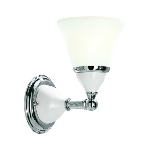 Hudson Valley Lighting Porcelain 1 Light Wall Sconce