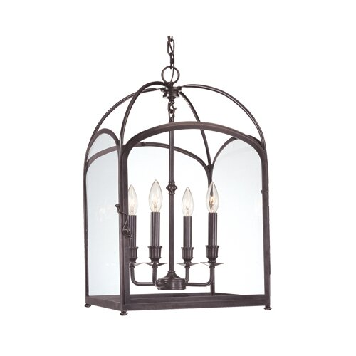 Hudson Valley Lighting Oxford 4 Light Foyer Pendant
