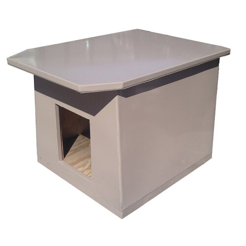 Insulated Steel Dog House