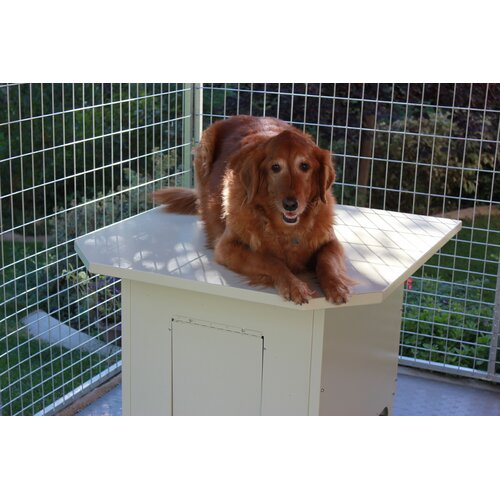 Kennel Pro Insulated Steel Dog House