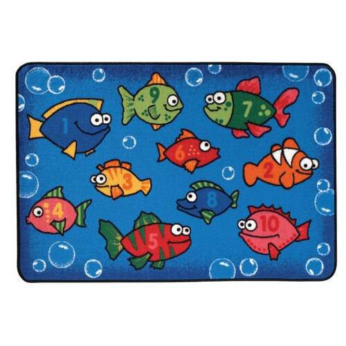 Kids Value Rugs Something Fishy Kids Rug