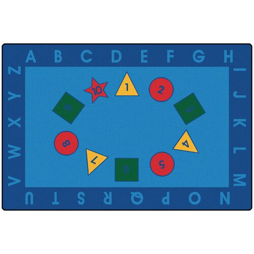 Kids Value Rugs Early Learning Kids Rug