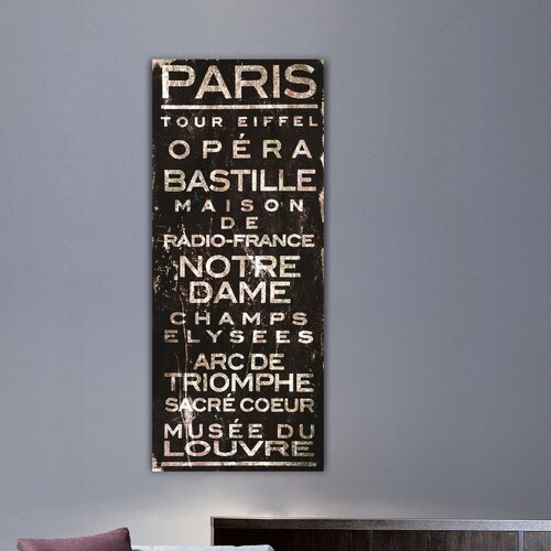 Jen Lee Art Paris Canvas Art
