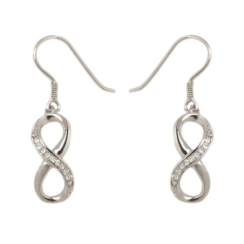 Infinity Drop Earring