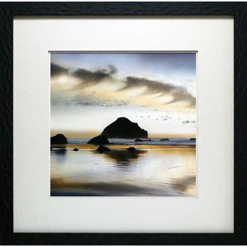 North American Art Twilight on the Coastline by Nancy Rotenberg Framed Photographic Print