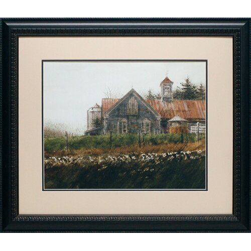 'Weathered Stillness' by Thomas William Jones Framed Painting Print