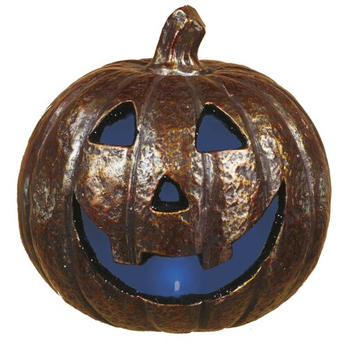 Spooky LED Light Up Jack O Lantern