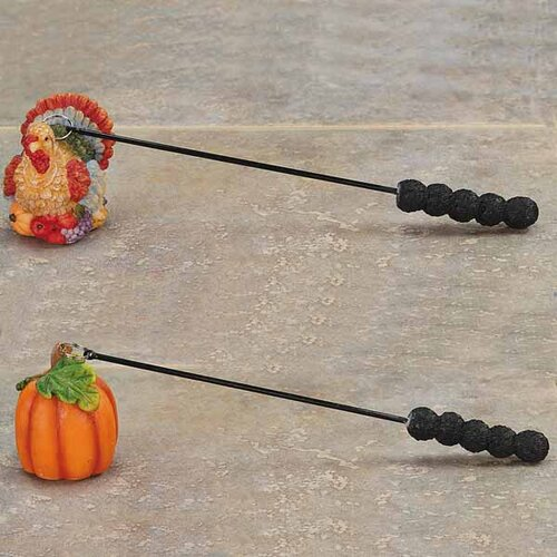 2 Piece Thanksgiving Candle Snuffers Set