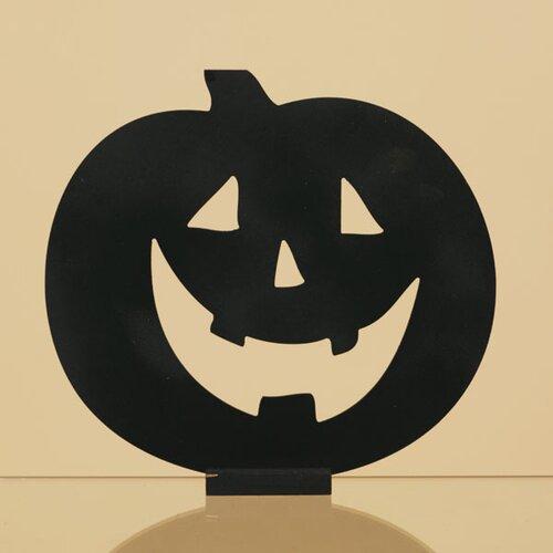 Oddity Inc. Wood Happy Jack-O-Lantern Silhouette