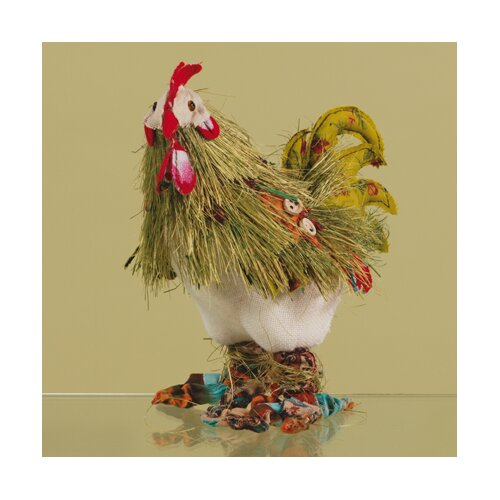 Oddity Inc. Crazy Rooster Statue